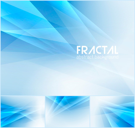 Fractal abstract background series. Low poly vector background series, suitable for design element and web background Illustration