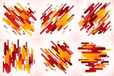 Modern stripes abstract background. Suitable for your design element and background Illustration