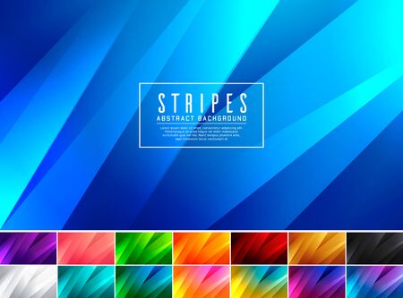 Stripe abstract background. Low poly and fractal vector background series. Applicable for web background, design element ,wall poster, landing page, wall paper, and social media element Ilustracje wektorowe