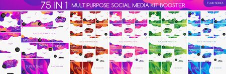 Multipurpose social media kit booster. Suitable for your product promotion or other