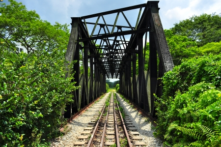 Railway bridge near Rifle Range Road, Bukit Timah, Singapore
