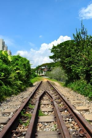 bukit:  A former Railway track around Rifle Range Road, Bukit Timah, Singapore