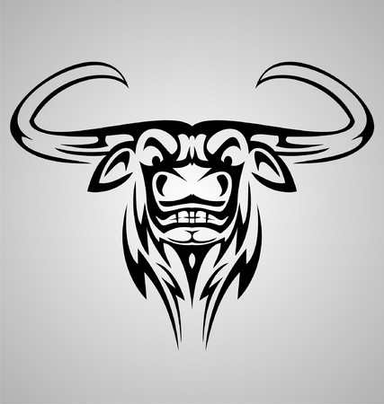 Buffalo Tribal Vector