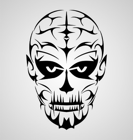 gothic: Face Tribal