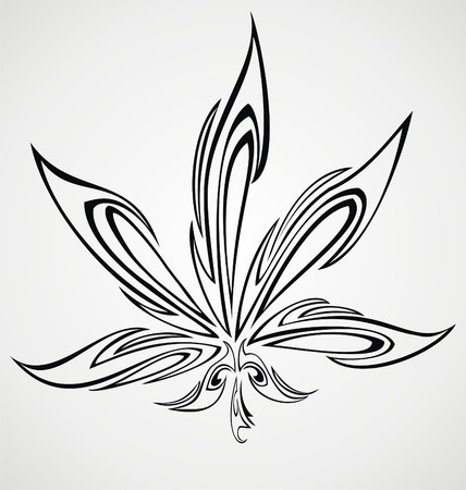 leaf: Marijuana Leaf Tattoo