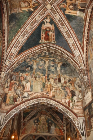 The picture from the wall of st  Gregory s Chapel  Editorial