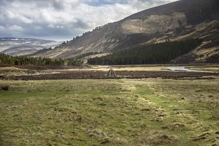 Queens Well. Cairngorm Mountains, Aberdeenshire, Scotland, UK