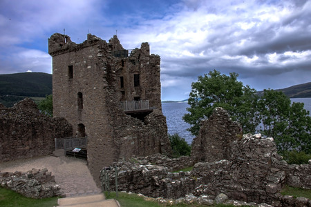 Urquhart Castle. Inverness, Highlands, Scotland, UK