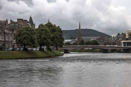 Inverness - city in Scottish Highlands.