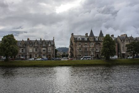 Inverness - city in Scottish Highlands.