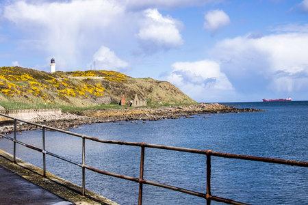 Coast of Aberdeen, Scotland, UK