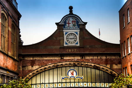 Windsor, Berkshire, England, United Kingdom - October 15, 2018: Windsor Royal Station