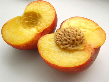 derives: peach - symbolic of long life