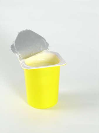 yoghurt Stock Photo