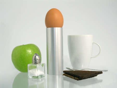 wholemeal: breakfast Stock Photo