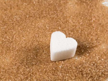 partially: brown sugar