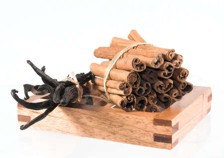 vanilla  & cinnamon
