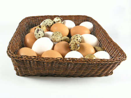 riboflavin: eggs in basket