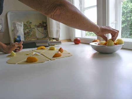 baking - homemake cake - step by step photo