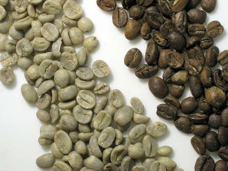 unroasted: unroasted coffee
