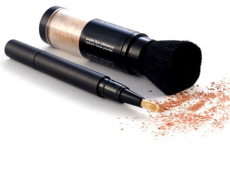 cosmetics series: Concealer on white background