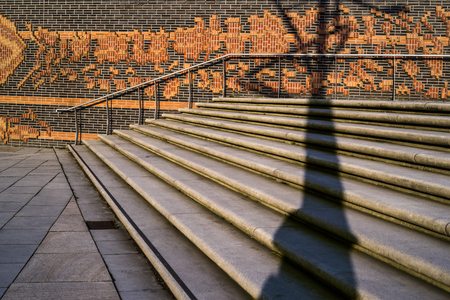 stairs in HafenCity