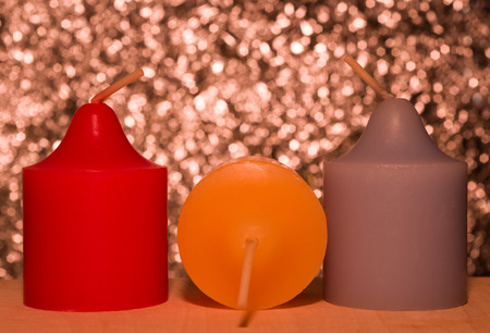 Candles for christmas Stock Photo