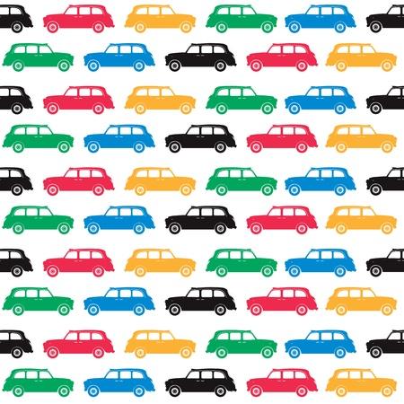 London - symbols - cab in olympics colours