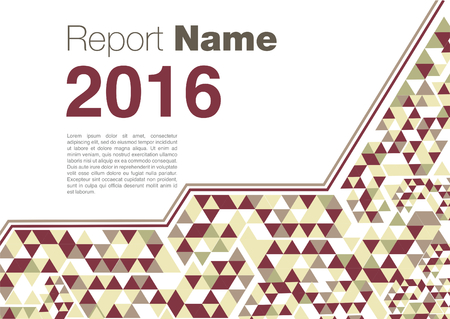 red yellow: brochure template Horizontal red yellow 2016 new