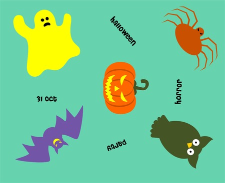 halloween pattern: cute halloween pattern