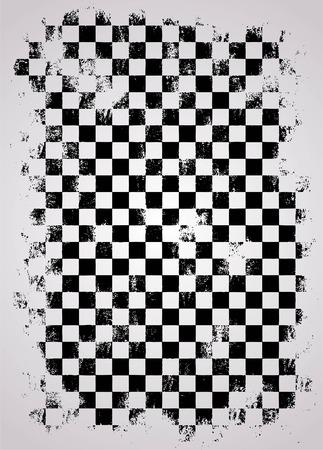 rn: grunge racing flag Illustration