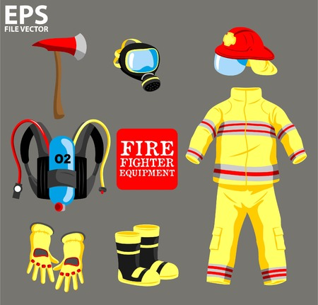 workwear: FIRE FIGHTER EQUIPMENT