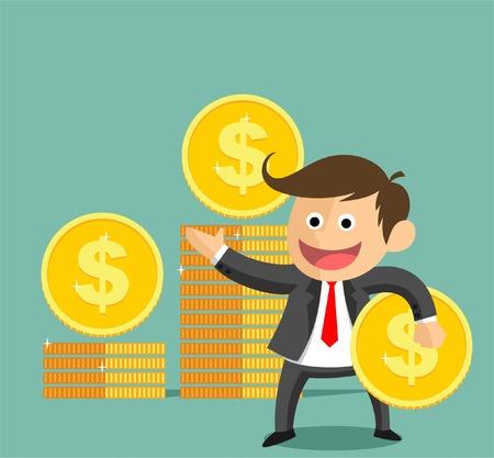cent: BUSINESSMAN SUCCESS ICON