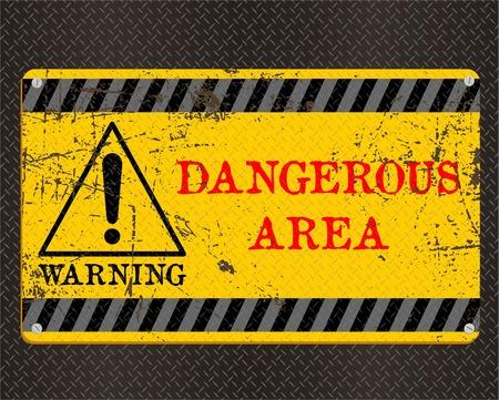 peligro: ZONA PELIGROSA