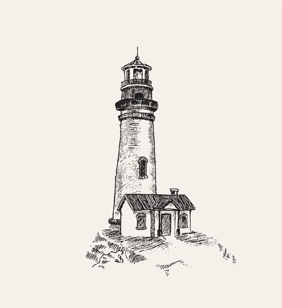 lighthouses: anchor and light house
