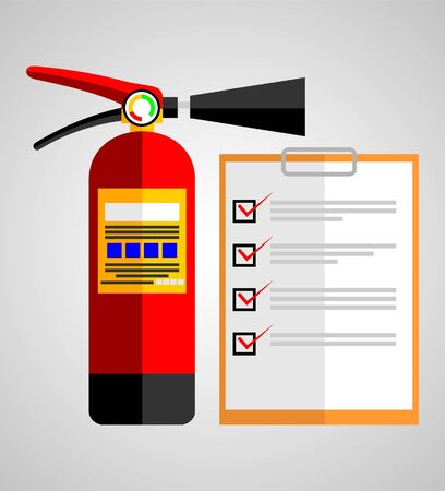 FIRE EXTINGUISHER ON CHECK LIST