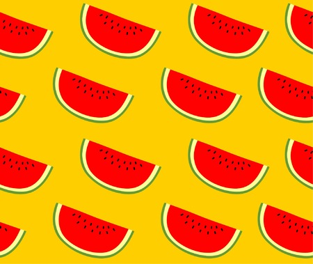 gourds: SEAMLESS WATERMELON FOR SUMMER PATTERN