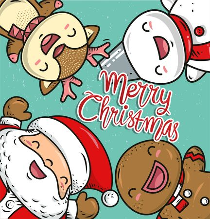 christmas element design or illustration vector