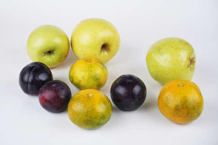 natural healthy organic mixed fruit.