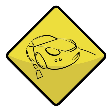 road sign Illustration