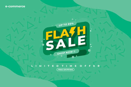 Vector Abstract Sales Promotion Banner Template Vector suitable for social media post, brochure, poster, web banner etc. Vector Illustration