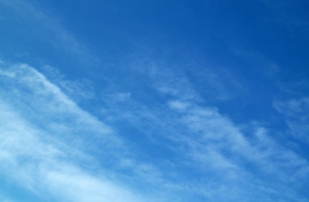 The fine gentle blue sky photo