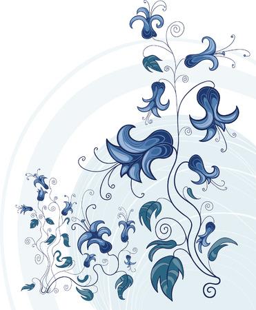Ornamento floral design  Archivio Fotografico - 5815822