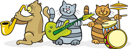 cats band Vector