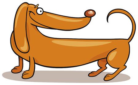 Dachshund Dog Stock Vector - 5839952