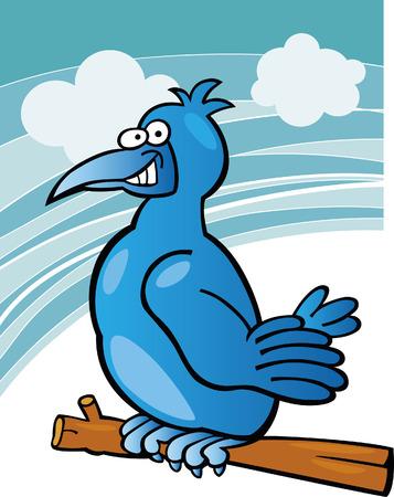 blue bird Stock Vector - 5892227