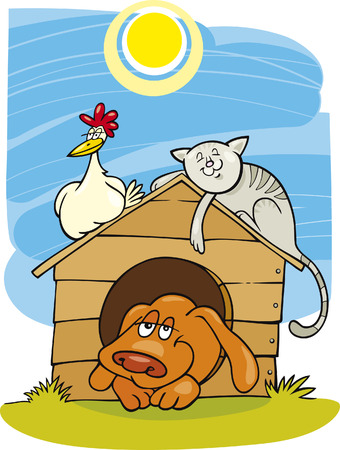 moggie: Happy farm animals