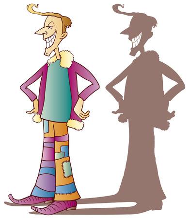 eccentric: eccentric guy Illustration