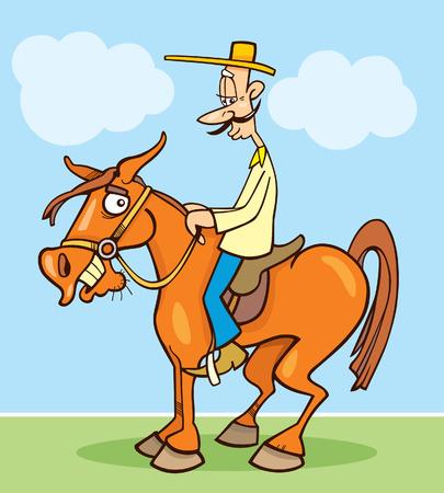 horseman: jinete divertido