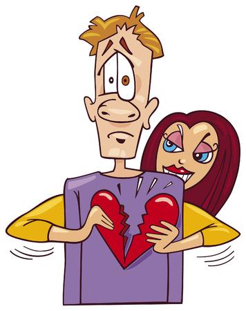 heartbreaker: heartbreaker girl Illustration